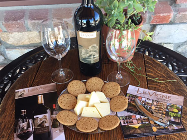 wine and cheese at Adelaide Inn