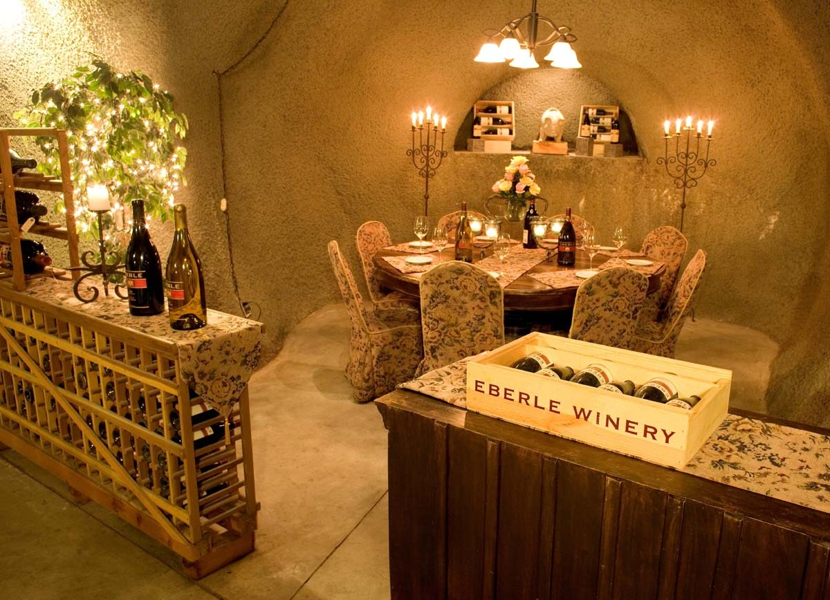 Eberle Winery cave