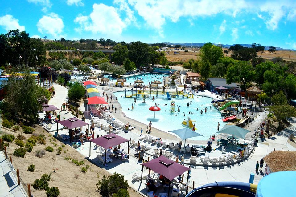 Ravine Waterpark aerial