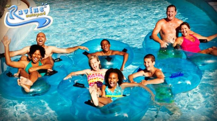 group at Ravine Waterpark