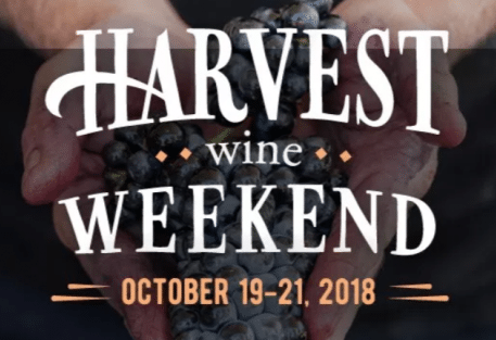 harvest wine weekend logo