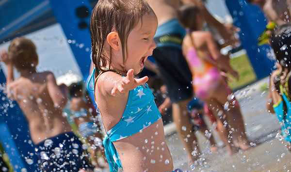 girl at Ravine Waterpark Paso Robles